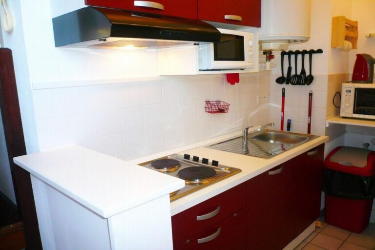 Gîte Honfleur Chez Lisette coin cuisine