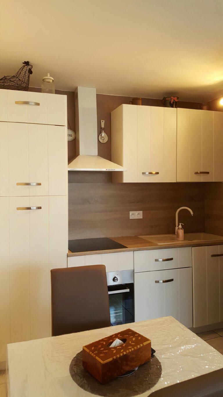 Gîte Honfleur coin cuisine au 66 studio