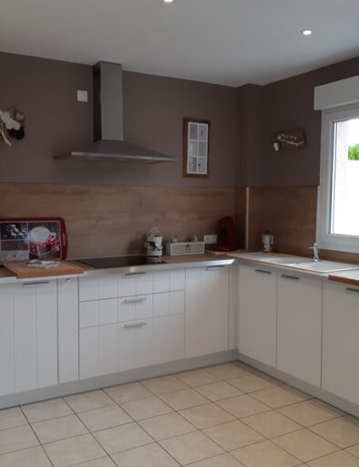 Cosy Maison gîte à Honfleur partie cuisine